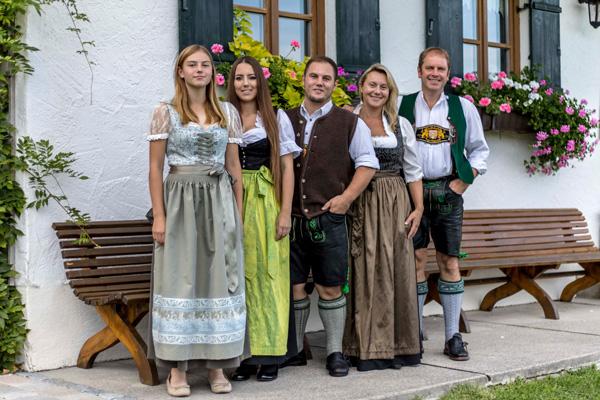 Familie Baumgartner vom Ferienbauernhof Freynend im Berchtesgadener Land